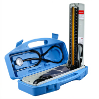 鱼跃水银血压计+听诊器2合1保健盒(内含听诊器上臂式)A型家用医用血压计