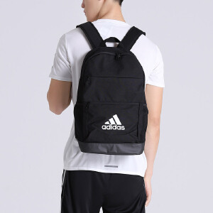 adidas阿迪达斯男双肩包2016新款三条纹运动包S02126