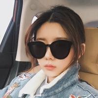 墨镜女韩版潮gm太阳镜圆明星眼镜复古街拍偏光镜