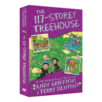 新 The 117-Storey Treehouse 117层树屋故事 儿童英语章节书小说 9-12岁 小屁孩树屋历险