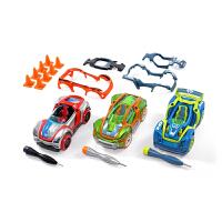 美国Modarri组装玩具车儿童拼装益智玩具可拆卸汽车套装 组装车