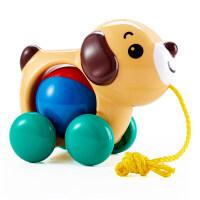 男孩儿童娱乐玩具皇室手拉小狗小鸭日本toyroyal儿童宝宝拉线拖拉玩具快乐狗