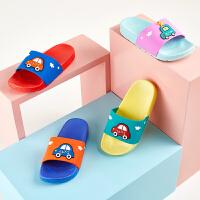 儿童拖鞋夏季男童室内防滑中童凉拖鞋女宝宝1-3岁家居托鞋