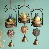 日式卡通风铃挂件树脂盆栽风铃挂饰
