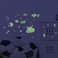 儿童房主题夜光贴纸 创意荧光贴