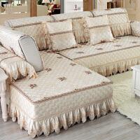 欧式沙发垫布艺简约现代沙发套四季通用全盖全包防滑客厅组合套装