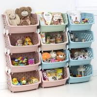 【支持礼品卡】厨房果蔬收纳筐零食儿童玩具收纳箱多层叠加菜篮子塑料蔬菜置物架 p1x