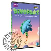 儿童动画片碟片dvd Dinopaws 快乐小恐龙好奇小恐龙 51集英字幕