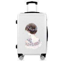 韩版箱子拉杆箱行李箱万向轮20寸小型轻便24可爱旅行箱密码箱