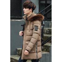 男士冬季棉衣中长款棉袄韩版学生冬装反季羽绒冬天衣服外套潮