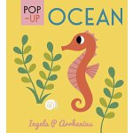 启蒙立体小书 海洋生物 英文原版 Pop-up Ocean 儿童认知识物 英文启蒙 儿童立体绘本书 小开本精装 1-3