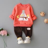 童装男童卫衣女童上衣早春0-1-2-3-4岁宝宝衣服婴儿春装