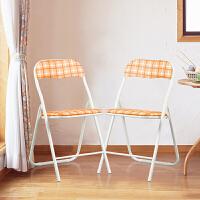 【当当自营】好事达 折叠凳子家用餐桌成人高圆凳小板凳椅子简易便携创意时尚(两个装)