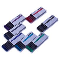 LAMY凌美T10墨胆一次性墨胆/墨囊/墨水芯/钢笔笔芯 卡水 墨水囊5支/盒 一次性水芯,便于携带,方便,碳粉细腻无