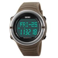 男士表户外运动跑步记步腕表心率电子表多功能防水心跳手表