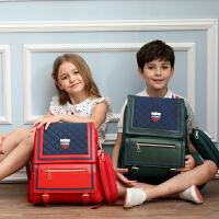 儿童书包小学生女童男童1-3-4-5-6年级双肩背包减负护脊