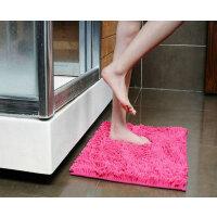地垫 雪尼尔卧室门垫浴室吸水止滑脚垫 厨房卫生间门口地垫