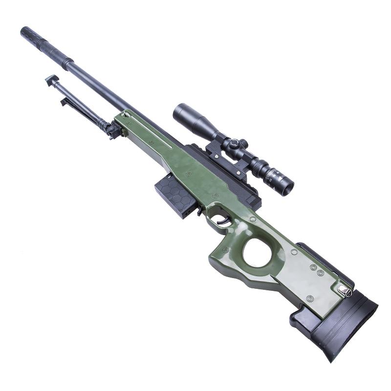 狙击枪98K可发射M416绝地模型求生抢玩具枪