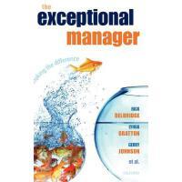 【预订】The Exceptional Manager: Making the Difference