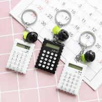 创意糖果色迷你计算器可爱简约随身便携计算铃铛电子计算器学习品