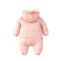 婴儿连体衣服0岁5个月新生儿男女宝宝衣服春秋装可爱秋冬季外出服