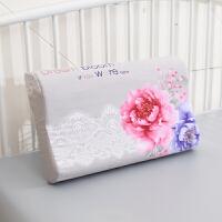 乳胶枕套 棉60x40 橡胶枕专用 儿童记忆枕枕套50x30 棉 浅灰色 131