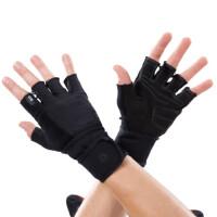 户外运动健身手套 力量训练哑铃举重防护手套防滑耐磨