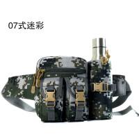 迷彩战术胸挂包水壶腰包男包休闲户外多功能工具鱼饵包