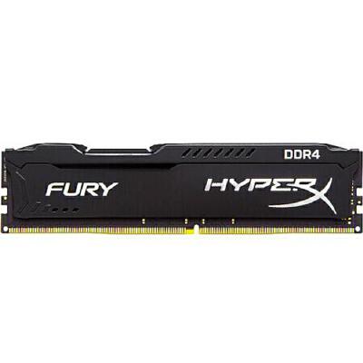 金士顿(Kingston)骇客神条 Fury系列 DDR4 2400 4G 台式机内存条 终身质保,放心购买