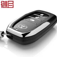 御目 汽车钥匙包 丰田凯美瑞荣放RAV4新汉兰达普拉多霸道锐志真皮钥匙套