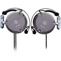 铁三角 (audio-technica) ATH-EM7X 复刻版耳挂式耳机 手机耳机 音乐耳麦 运动挂耳式 灰色