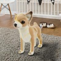 【当当自营】HANSA进口毛绒玩具 仿真狗公仔 吉娃娃(米色)长27cm