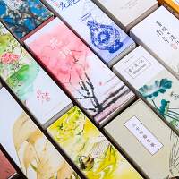 �L�古�L���中���L古典精美��~�W生小清新��意�Y物手�L空白卡片