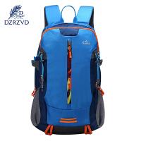 地时尚韩版双肩包男女耐磨耐脏防水休闲运动包户外旅行背包30L