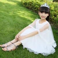 女童连衣裙夏装儿童公主裙夏季裙子小女孩中大童衣服童装