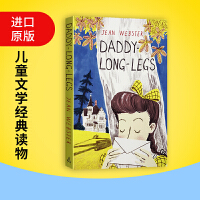 Daddy-Long-Legs 长腿叔叔 英文原版书信体小说 英文版儿童文学经典读物 中小学生英语课外阅读 可搭小妇人