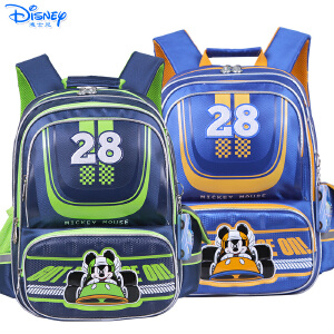 Disney/迪士尼 米奇儿童小学生1-4年级双肩减负护脊卡通书包MB0516