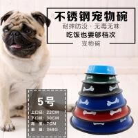 【支持�Y品卡】新品��物日用品(30cm)不�P�彩�F彩色狗碗6ac