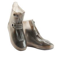 雨天防水鞋套便携式硅胶防雨鞋套下雨雨靴透明防滑加厚耐磨底