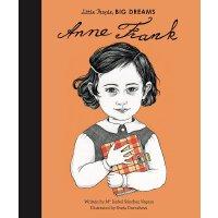 小女孩,大梦想:安妮・弗兰克 Anne Frank 英文原版 精装绘本 名人传记 Little People, Big