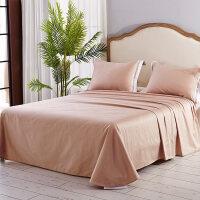 家纺床单单件纯棉全棉1.5m1.8m2.0m床纯色简约单人双人床