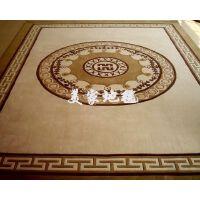 高档手工纯羊毛客厅茶几卧室中式地毯地垫特价定制2*3米Y029