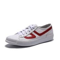 真皮小白鞋夏季男士板鞋韩版潮流白鞋软底透气休闲鞋轻质运动休闲