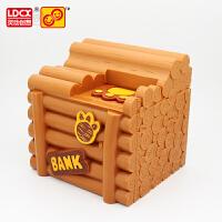 灵动创想熊出没玩具熊大熊二存钱罐自动储钱罐熊掌钱庄系列光头强
