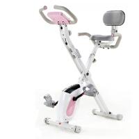 动感单车 家用静音健身车磁控折叠室内运动自行车健身房锻炼器材