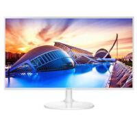 三星(SAMSUNG)S32F351FU 32英寸白色HDMI全高清液晶电脑显示器31.5