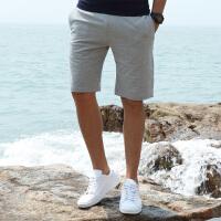 古星夏季新款男士运动五分裤休闲短裤薄款透气字母印花跑步短裤子