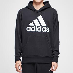 adidas阿迪达斯男子卫衣连帽套头衫休闲运动服CW3861
