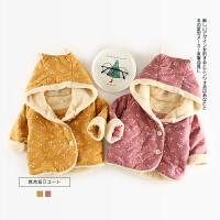88 冬季新款婴幼儿男女童星星加绒棉衣