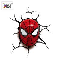 新华书店正版 造梦师20024 漫威迷你蜘蛛侠面具3D装饰壁灯